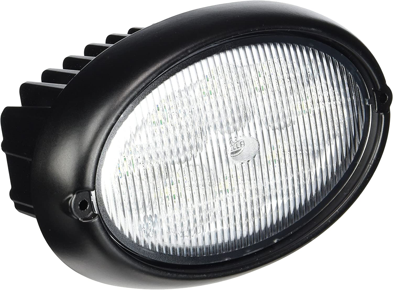 Plug: DEUTSCH Oval 12V//24V 4000lm mounting II Oval 100 Gen HELLA 1GA 996 761-011 Worklight Long-range illumination Vertical