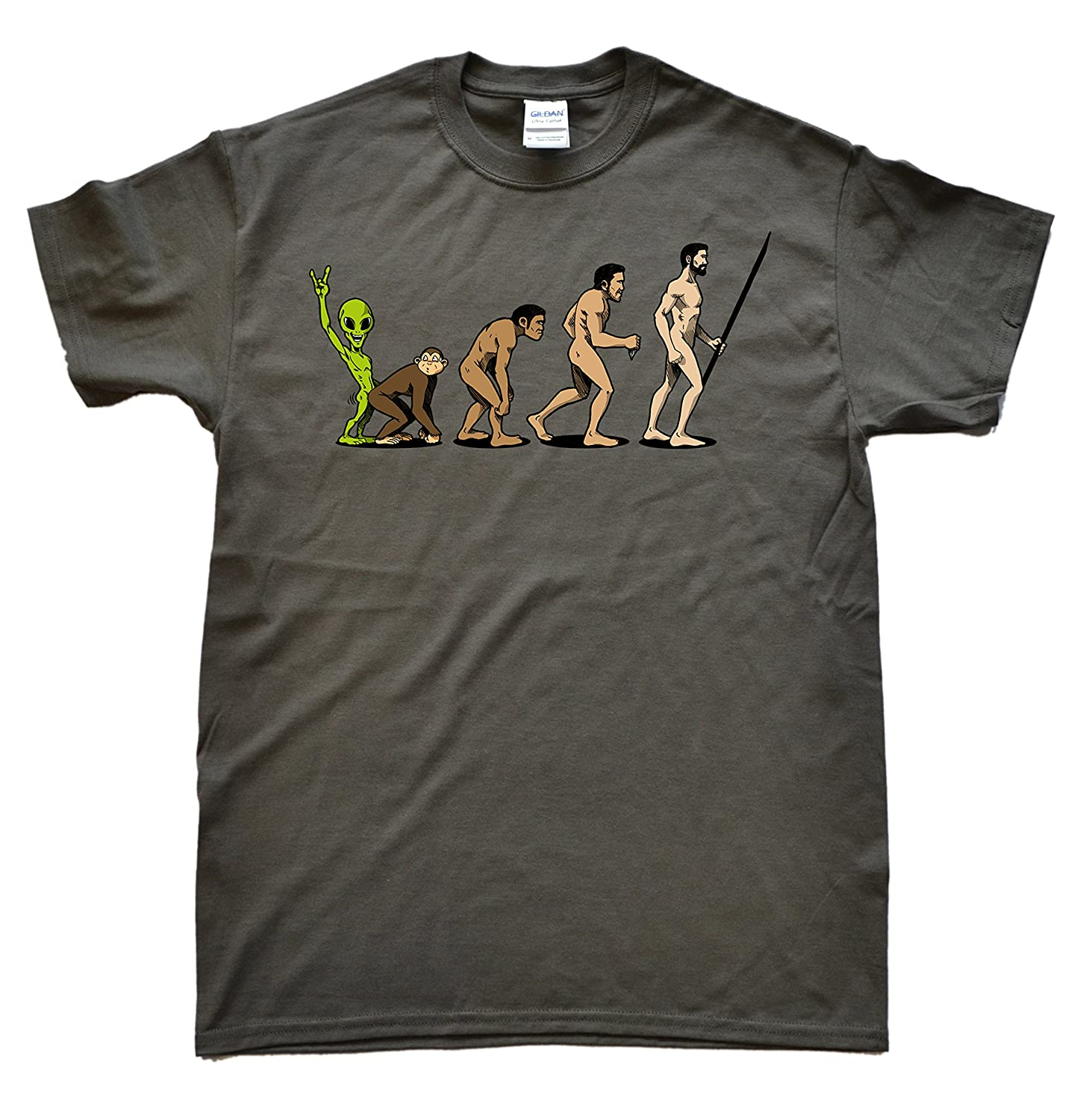Stooble Mens Theory of Evolution T-Shirt