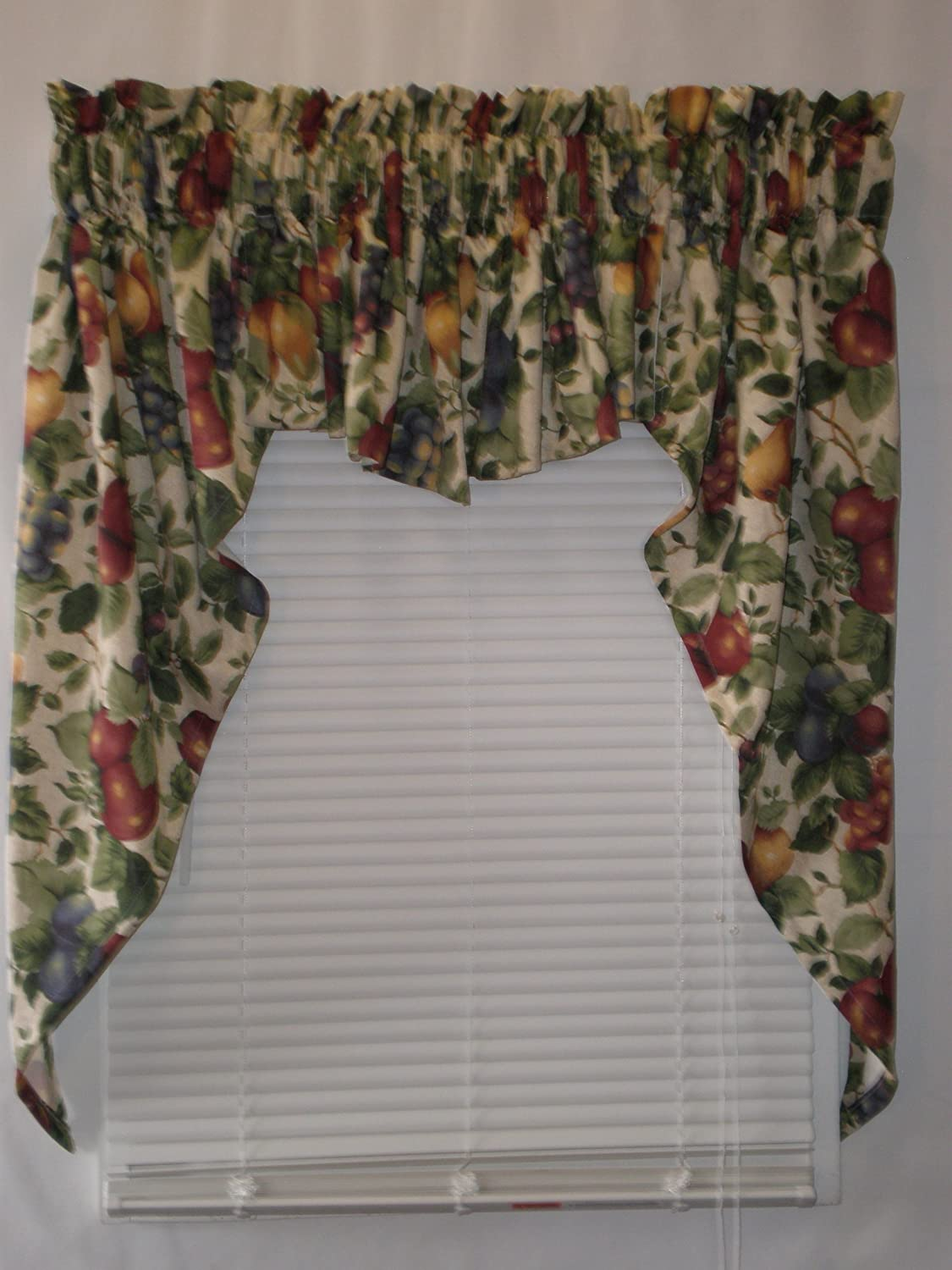 Sonoma Lined Swag Set (Insert Valance 56Wx15L) Cambridge Curtain 7360