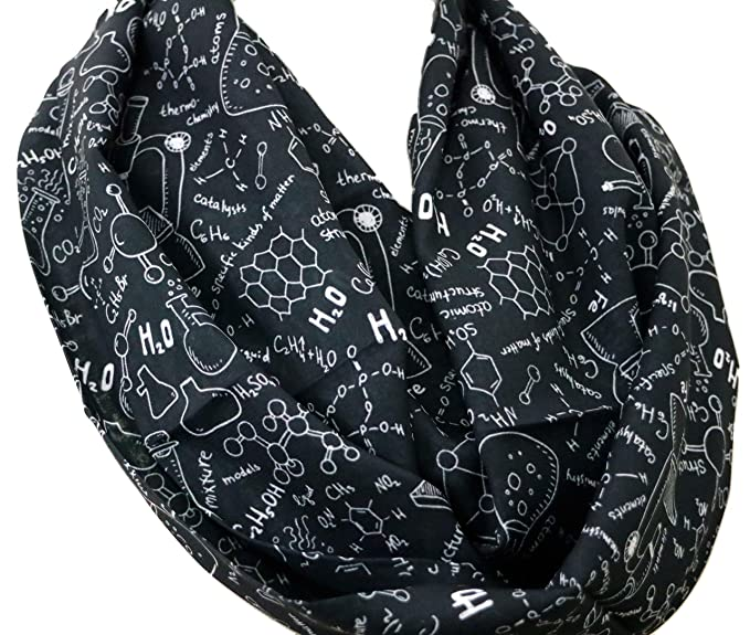 Science Infinity Scarf For Teachers Pharmacist Chemist Engineer