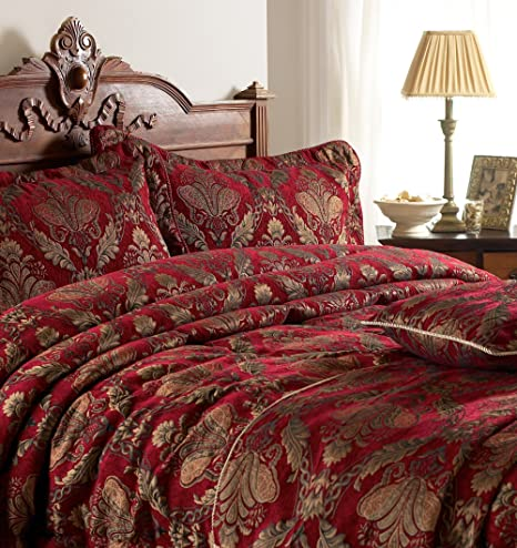 Image result for gold damask bedspread