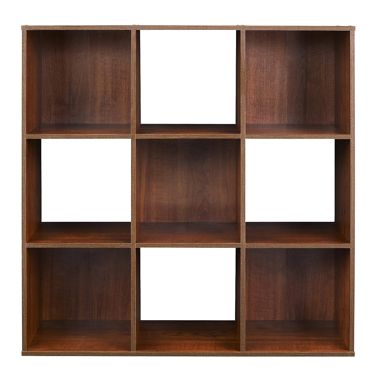 Amazon.com: ClosetMaid (4105) Cubeicals Organizer, 9 Cube   Dark Cherry:  Home U0026 Kitchen