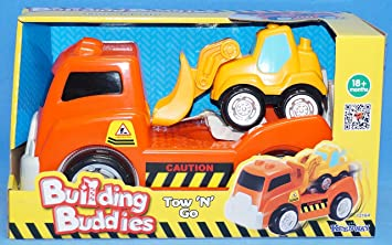 Tow N Go >> Building Buddies Tow N Go Amazon Co Uk Toys Games