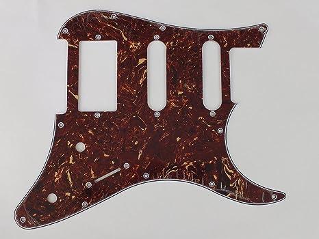 HSS placa de cero golpeador Para Yamaha Pacifica 112, marrón (brown tortoiseshell)