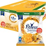 Nestle Fitness Toasties Honey Mustard 36g Bag (12 Bags)