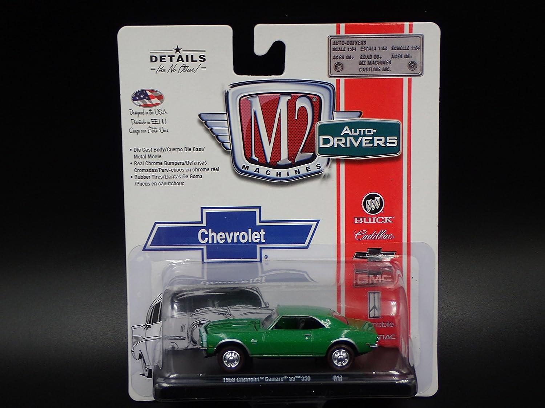 Amazon.com: 1968 CHEVROLET CAMARO SS 350 2017 M2 AUTO-DRIVERS R47 17-53: Toys & Games