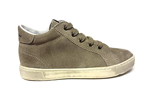 Naturino - Zapatillas de Ante para niña Beige TóRTOLA Beige Size: 32: Amazon.es: Zapatos y complementos