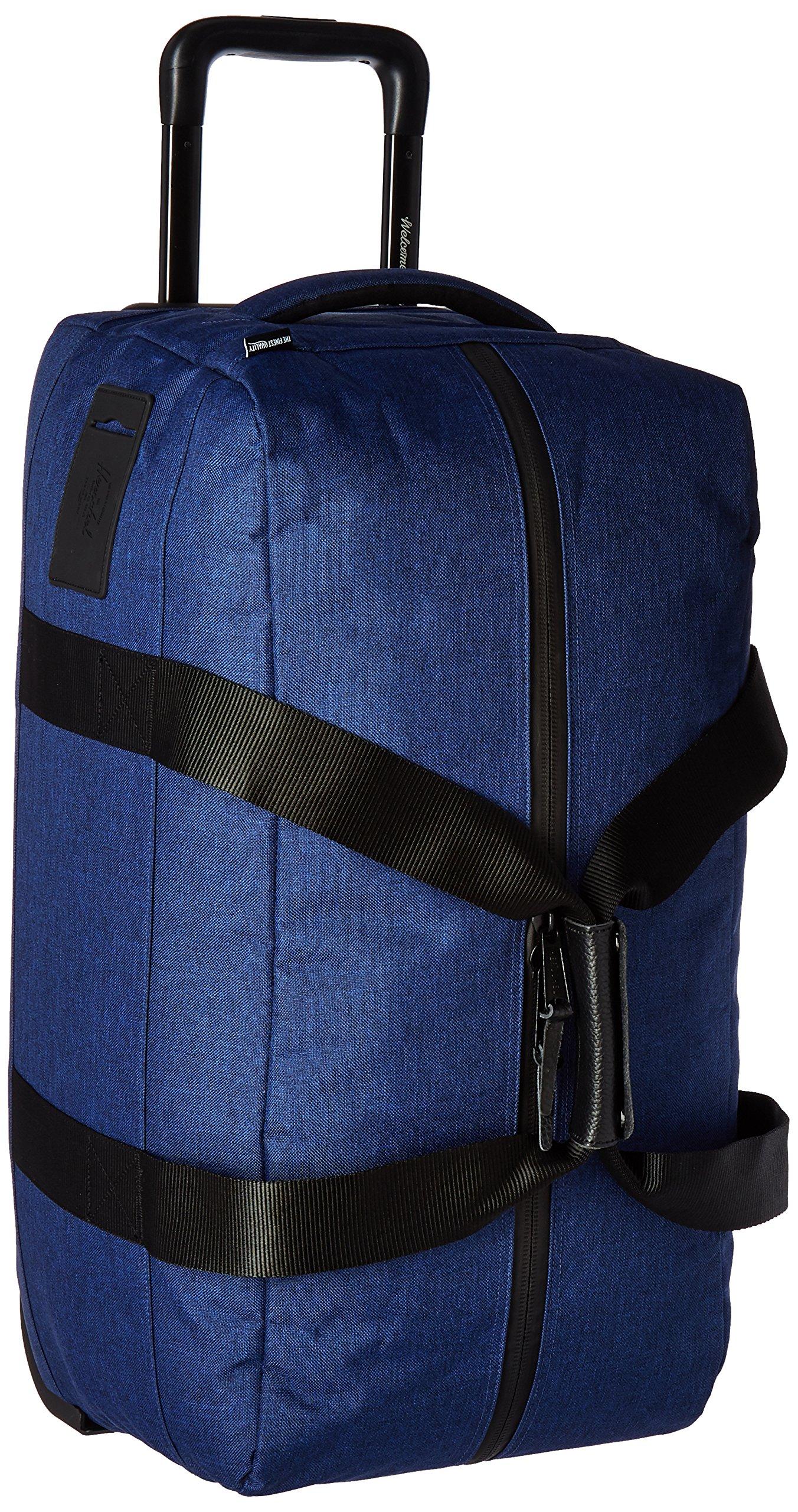 Herschel Supply Co. Wheelie Outfitter Duffle Bag, Eclipse Crosshatch by Herschel Supply Co.