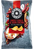 Red Rock Deli Sweet Chilli and Sour Cream Potato Chips 12 X 90 Grams
