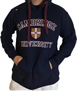 Cambridge University Official Hoody - Official Apparel of The Famous Univeristy of Cambridge Navy Maroon