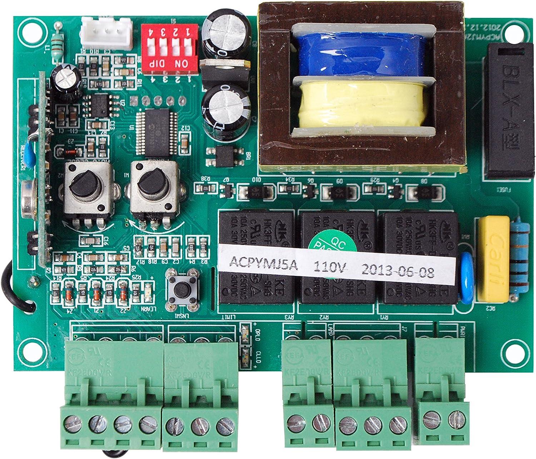 amazon.com: aleko pcbac2400/1500 replacement circuit control board for  sliding gate opener ac1500 ar1550 ac2400 ac2450: home improvement  amazon.com