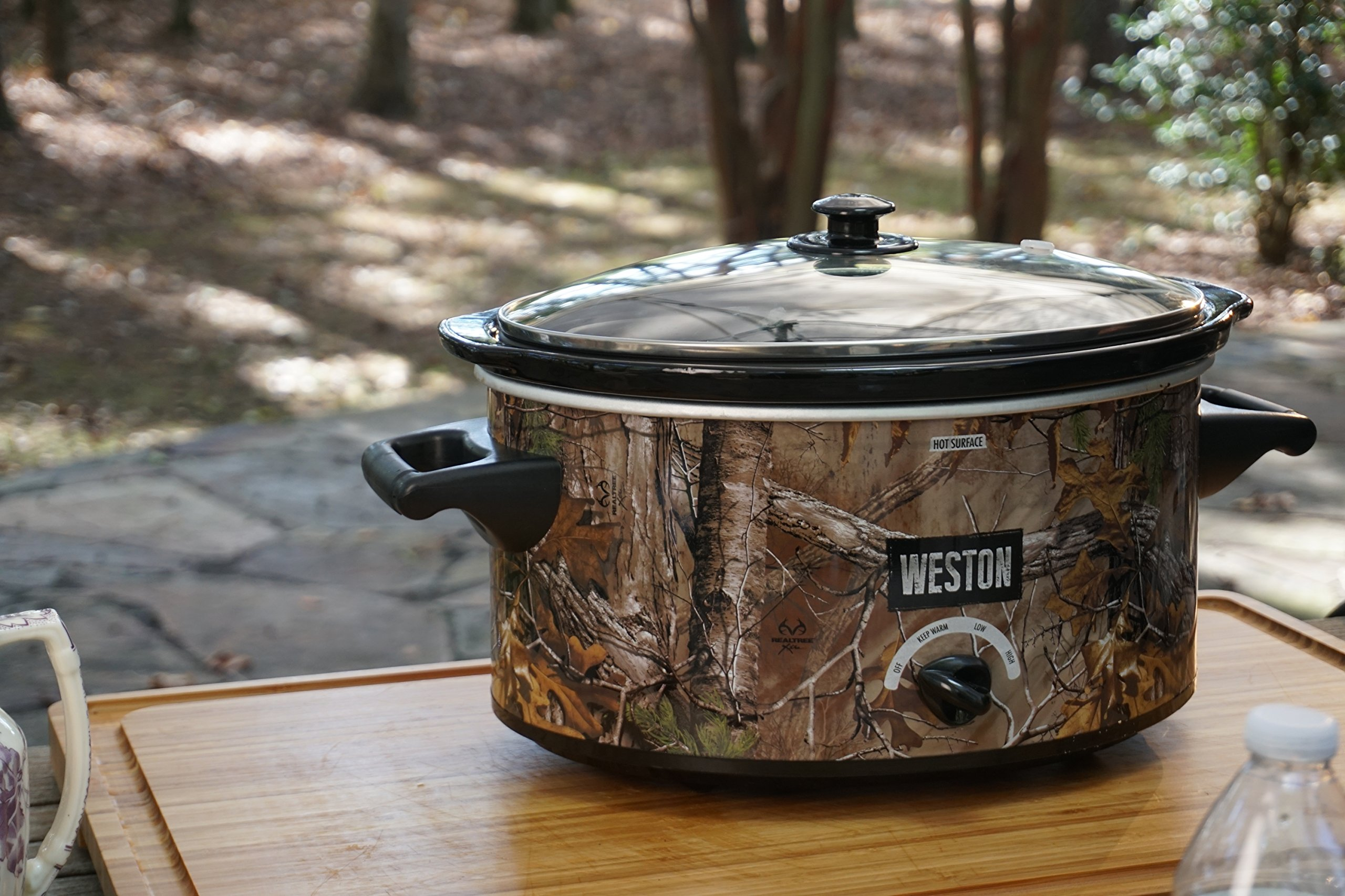 Weston 03-2100-RT Slow Cooker, 5 Quart, Green by Weston (Image #2)