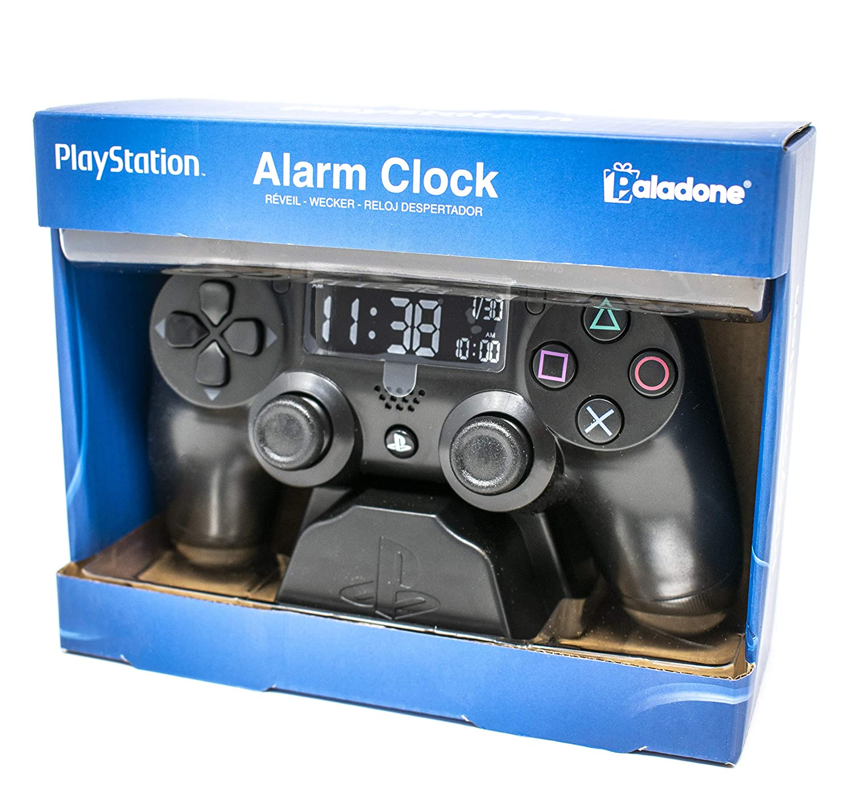 Amazon.com: Reloj despertador de Playstation: Home & Kitchen