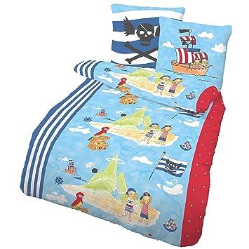 Piratenschiff Fein Biber Kinder Jungen Bettwasche Piraten