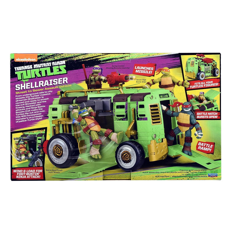 Amazon.com: Teenage Mutant Ninja Turtles Shellraiser Group ...