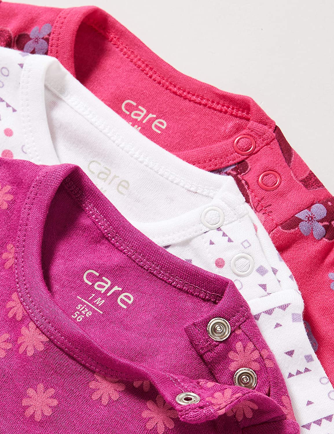 Care 550202 Baby Girls Shaping Bodysuit,Pack of 6