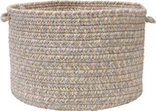 product image for Colonial Mills Tremont Utility Basket, 14 by 10-Inch, Gray
