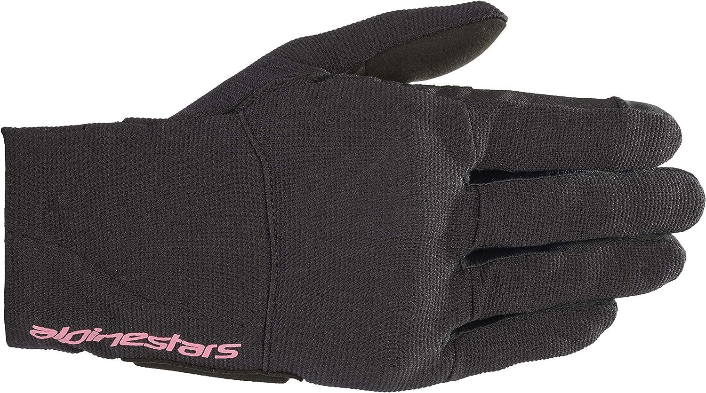 Alpinestars Reef Ladies Motorcycle Gloves Schwarz XS