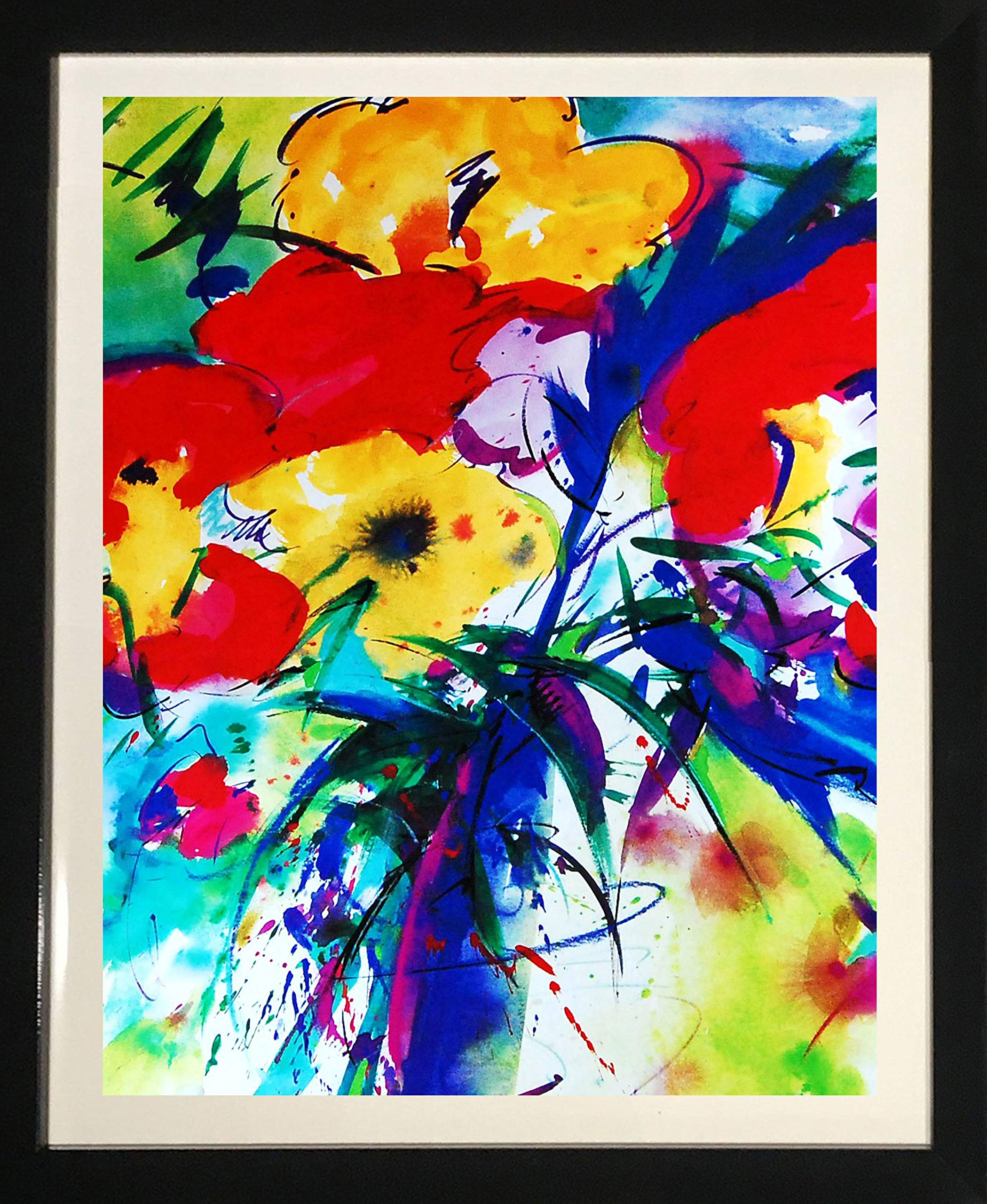 Abstract Art Flower by