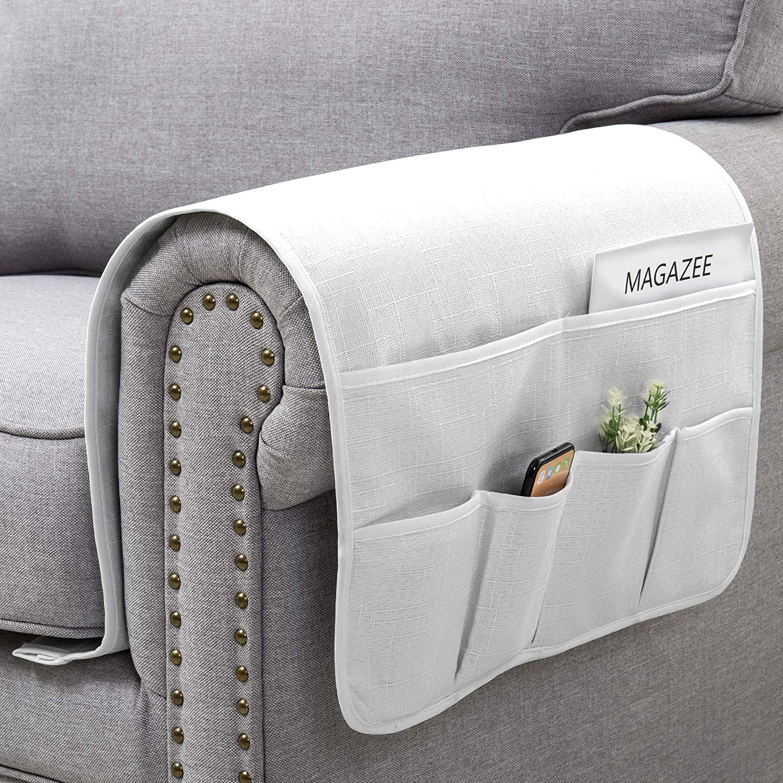 Wondrous Symax Sofa Armrest Storage Organizer 6 Pockets Couch Non Machost Co Dining Chair Design Ideas Machostcouk