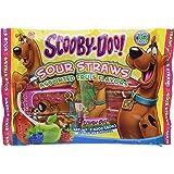 Scooby Doo Sour Straws - 2.82 Oz Bag (Pack of 2)