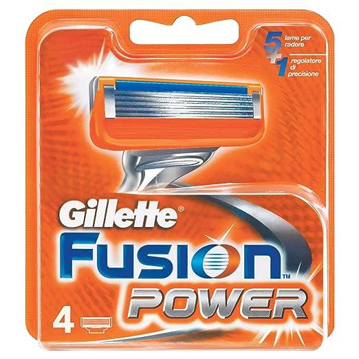 28 opinioni per Gillette Fusion Power Lame di Ricarica per Rasoio, da Uomo, 4 Pezzi