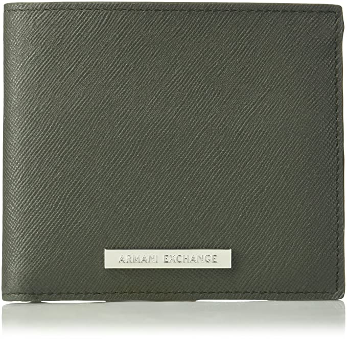Amazon.com: Armani Exchange Saffiano - Cartera para hombre ...