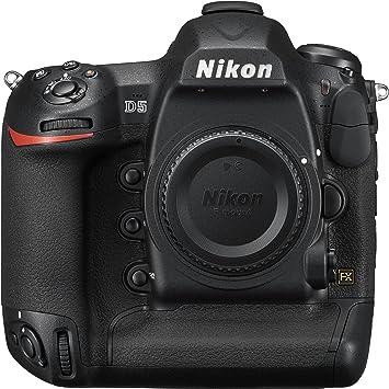 Amazon.com: Nikon D5 20.8 MP FX-Format Digital SLR Camera ...