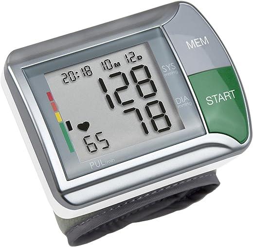Medisana HGN Wrist Blood Pressure Monitor, White and Grey