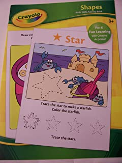 Crayola Educational Activity Book ~ Shapes (Pre-K Fun Learning with Creative Activities) by Crayola Dalmatian Press