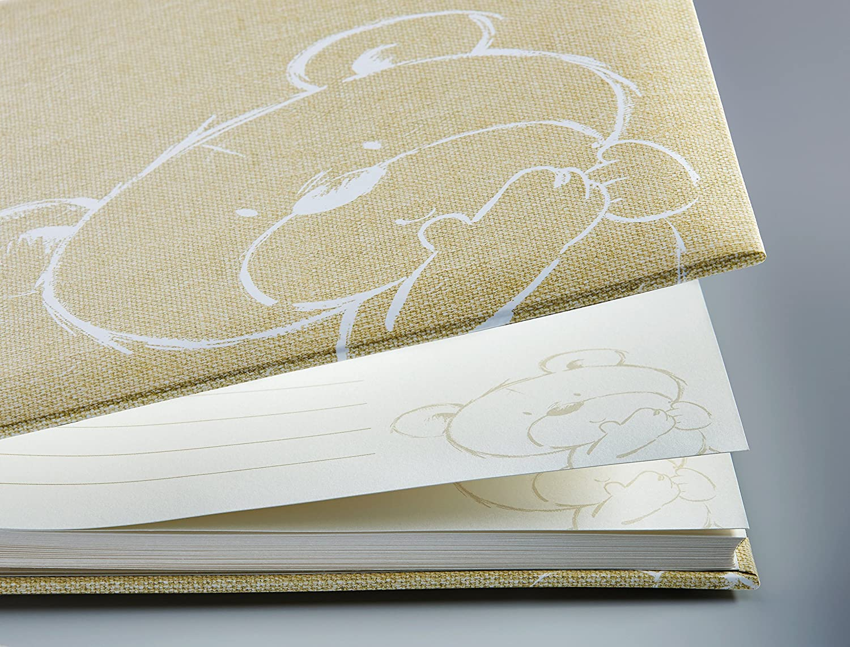 Walther Design UK-150 /álbum del beb/é Little Sunshine 28 x 30,5 cm Amarillo 50 p/áginas Blancas