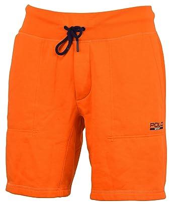 Ralph Lauren Polo Sport Pantalones Cortos de Forro Polar de Mezcla ...