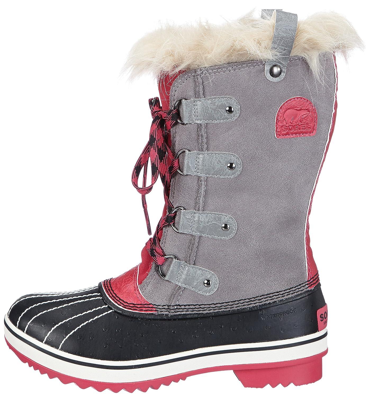 20462c177f7 Sorel Girls  Youth Tofino Snow Boots Grigio (Grau (Light Grey. Black ...