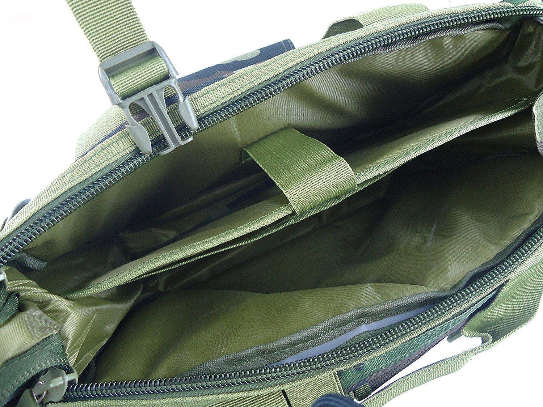 ACU TongCart Milit/ärarmee-Jagd-taktische Laptop-Taschen im Freien wasserdichte Nylon-tragbarer Schulter-Beutel-M/änner Freizeit-Umh/ängetasche