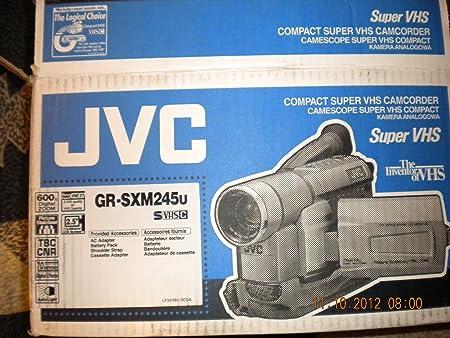 Gr Sxm245u Jvc Compact Super Vhs Camcorder Amazon Ca Electronics