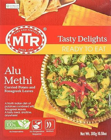 a37c5ff73e6794 Amazon.com   MTR Ready-to-Eat Alu Methi - 10.56oz   Indian Food ...
