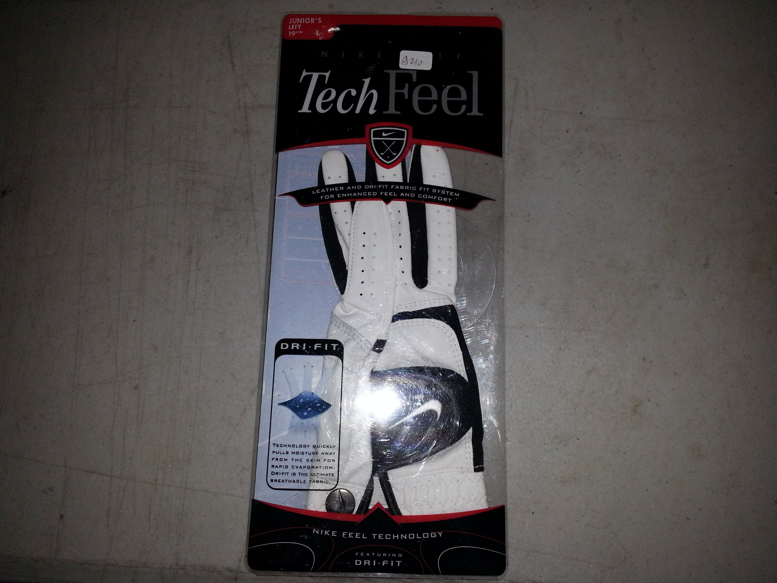 Tech Feel Golf Glove - Junior's Left Large by NIKE (Image #1)