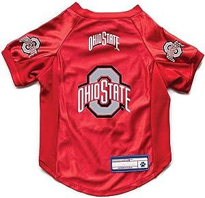 NCAA Ohio State Buckeyes Pet Stretch Jersey, X-Large (120156-OHSU-XL)
