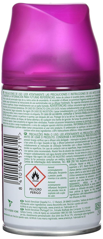 Air Wick Freshmatic Max Ambientador de Recambio Lirio de Luna y Satén de Seda - 250 ml: Amazon.es: Belleza