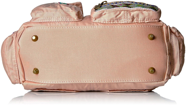 c95f6e7a35 Desigual , Sac pour femme à porter à l'épaule rose - Rose - _Rose, Taille  unique: Amazon.fr: Chaussures et Sacs
