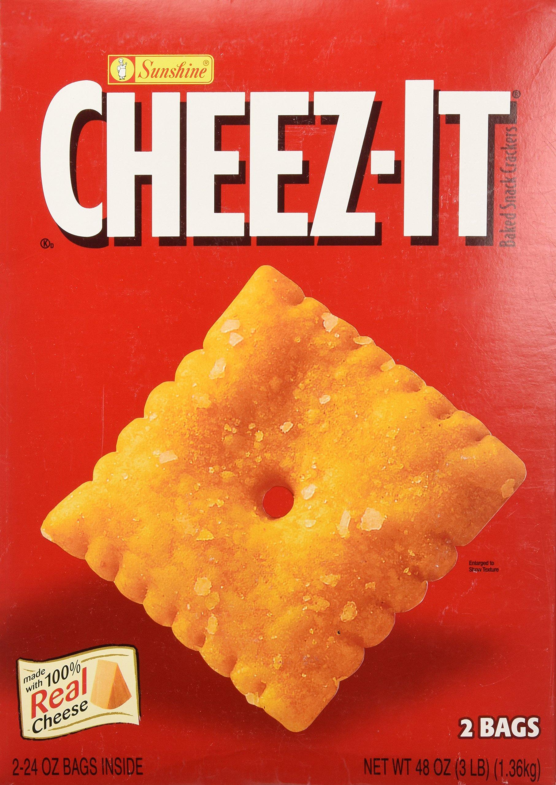 Sunshine Cheez-It Crackers - 3 lb. box
