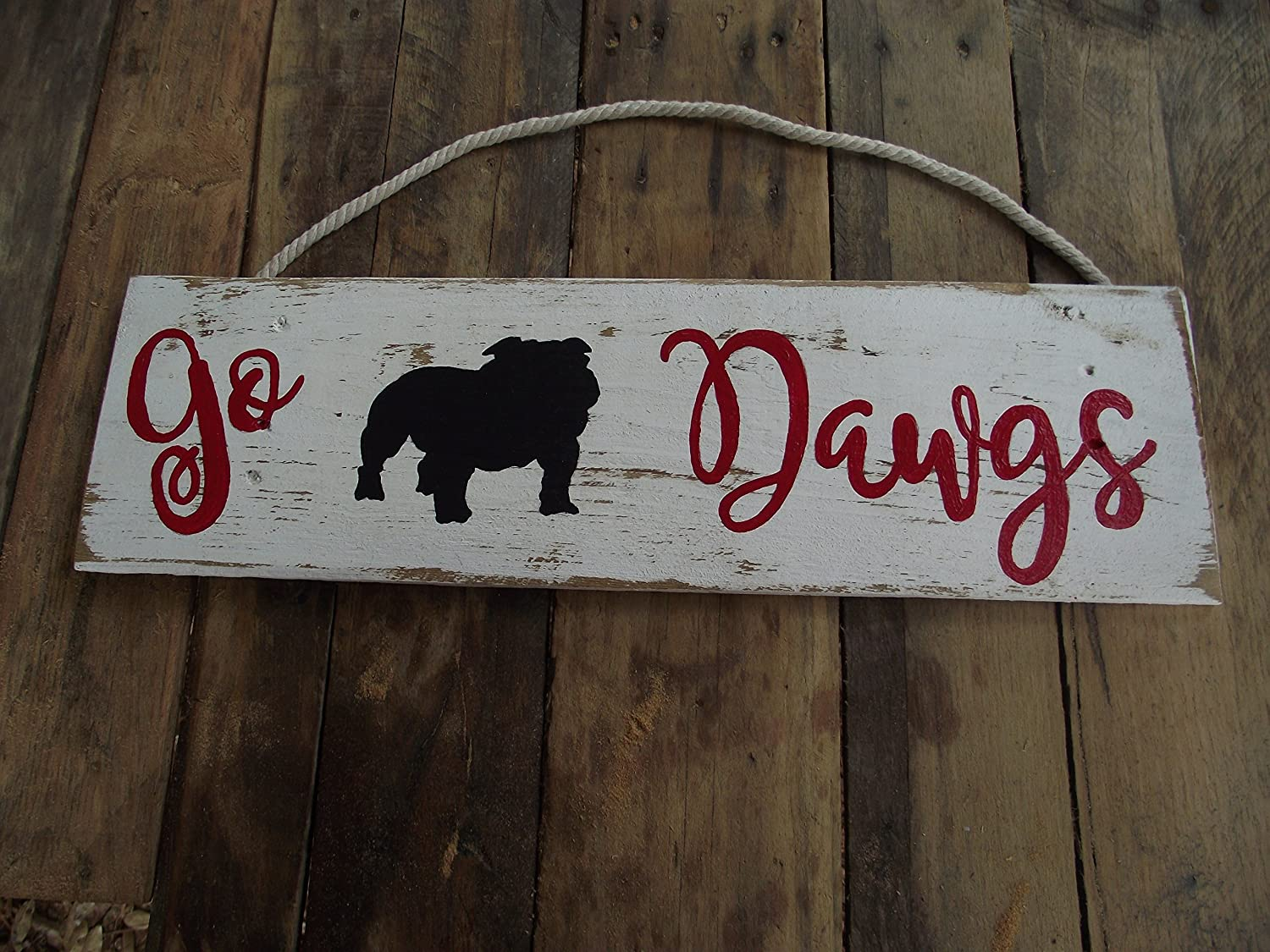 Uga Man Cave Signs : Forget the man cave part i want one of these in my house day
