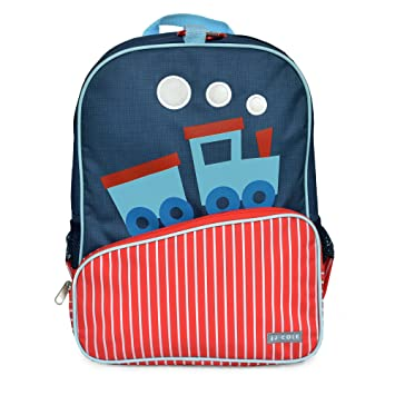 Amazon.com: Little JJ Cole Toddler Backpack, Train: Baby