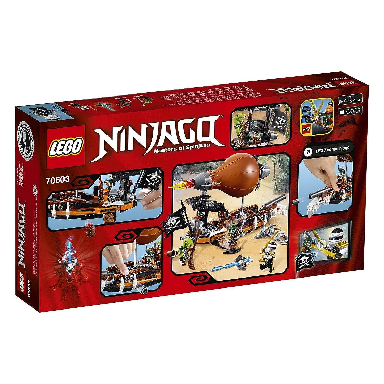 amazoncom lego ninjago raid zeppelin 70603 toys games - Legocom Ninjago