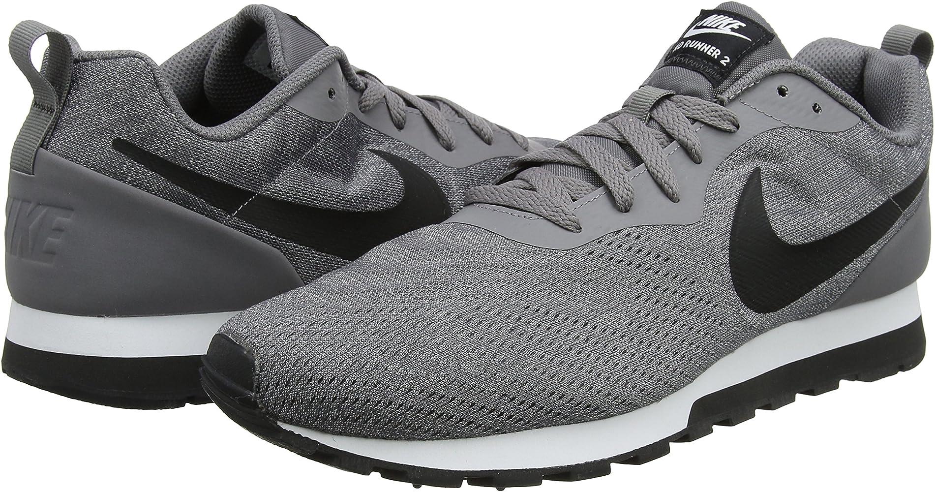 Negro (BlackBlack white 008) Nike MD Runner 2 Eng Mesh