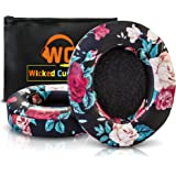 Upgraded Beats Replacement Ear Pads By Wicked Cushions - Compatible with Studio 2.0 Wired/Wireless AND Studio 3 Over Ear Headphones by Dr. Dre ONLY (DOES NOT FIT SOLO) - Black Floral
