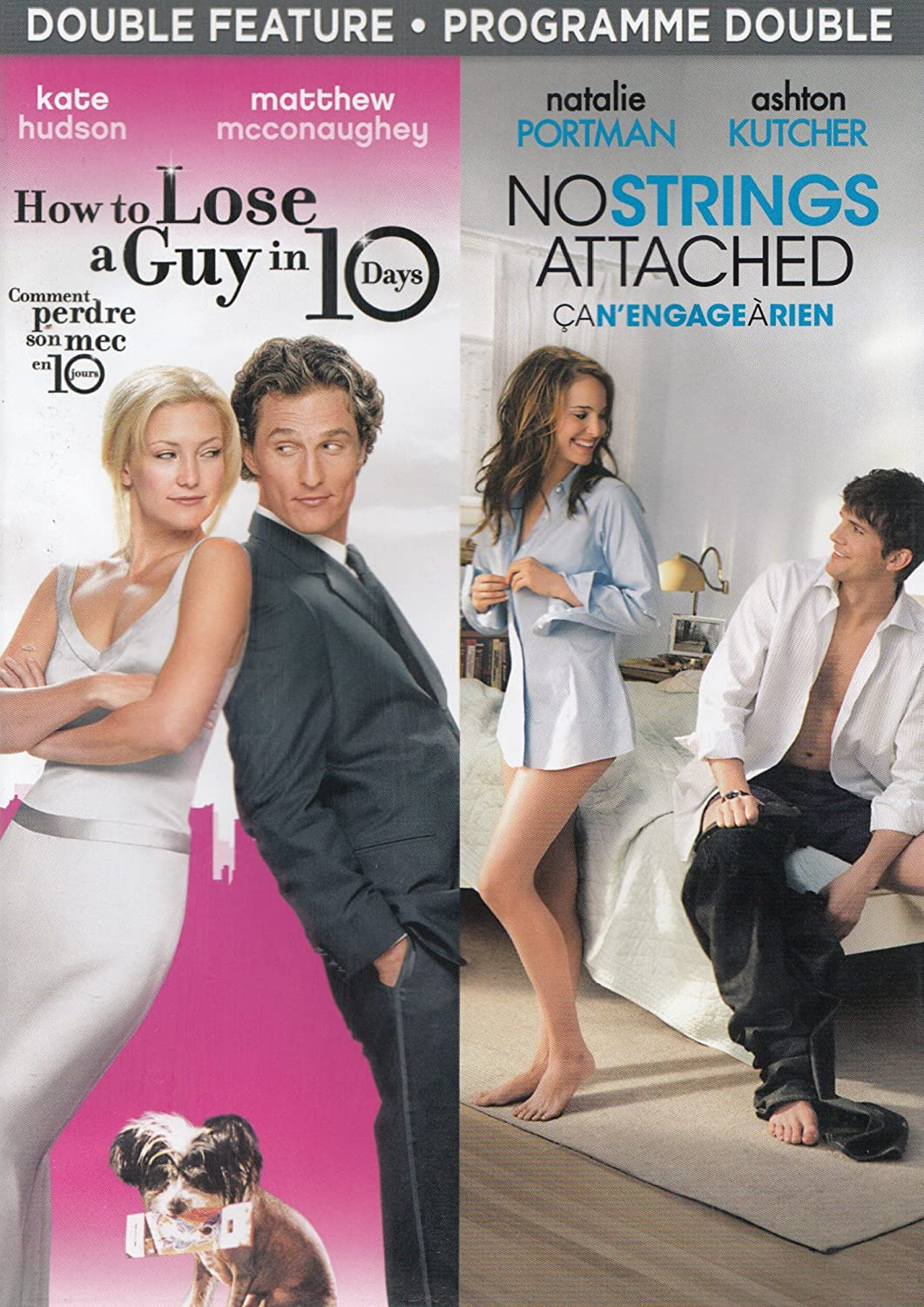 How to Lose a Guy in 10 Days / No Strings Attached Double
