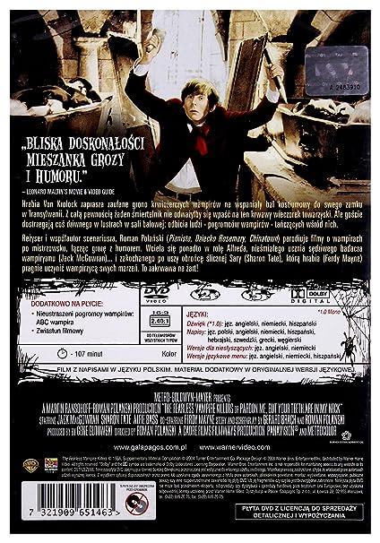 The Fearless Vampire Killers Roman Polanski - DVD Region 2 IMPORT ...