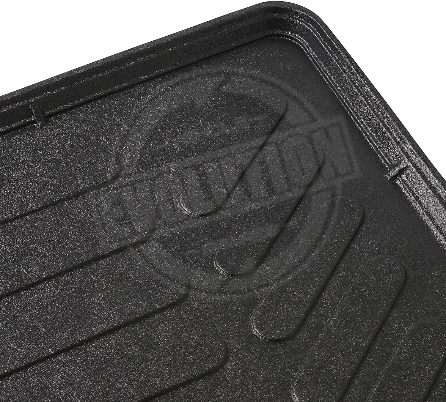 Crossland X Custom Tailored Fit Black Car Trunk Mat Cargo Boot Liner Tray Mat 100/% ODOURLESS NON TOXIC MATERIAL-PERFECT FITMENT