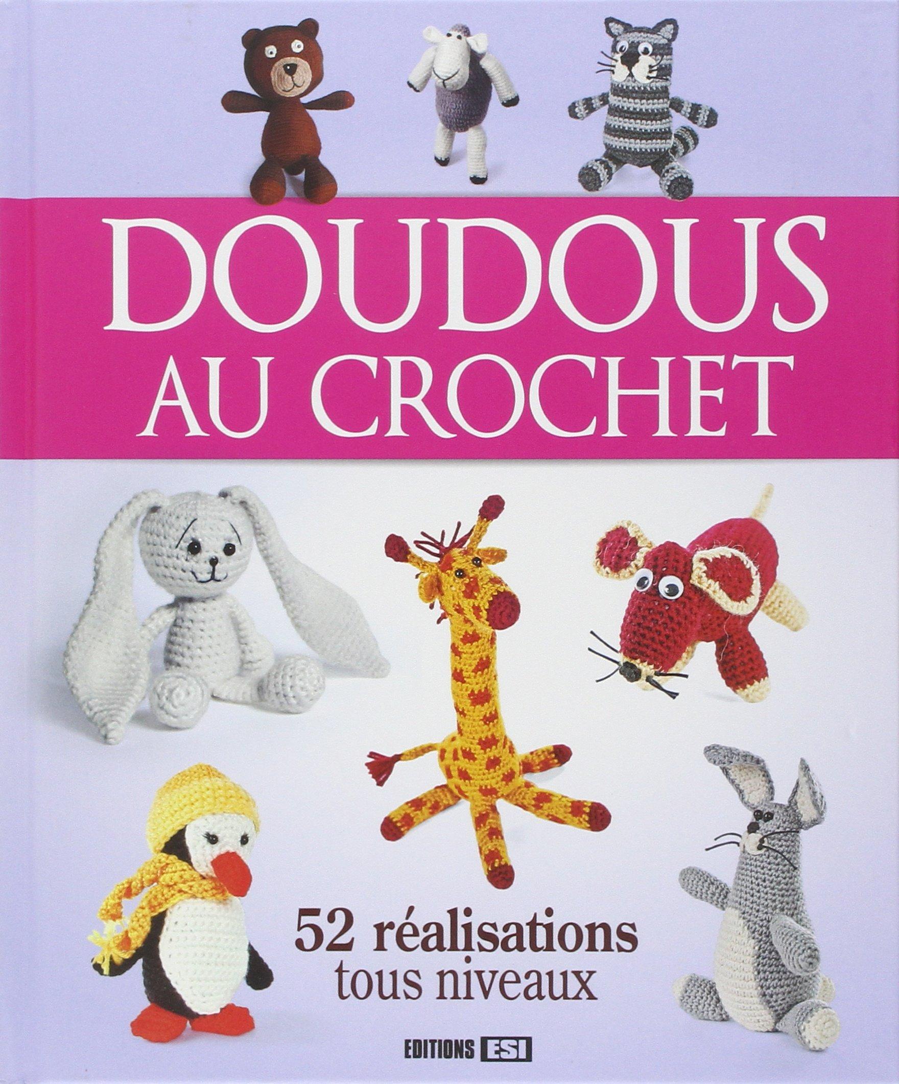 Amazonfr Doudous Au Crochet Anastasiia Brozinskaiia